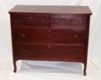 refinished-mahogany-dresser